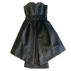 Milly Seamed Sweetheart Dress